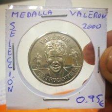 Medallas temáticas: MEDALLA VALERON SELECCION 2000. Lote 148462714