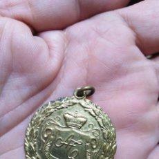 Medallas temáticas: MEDALLA DORADA SOBERANA DE LA ENSEÑANZA 3,2 CM . Lote 148490602