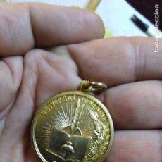 Medallas temáticas: GRAN MEDALLA RELIGIOSA UNIVERSAL FEMENINA DORADA 3 CM . Lote 148490837