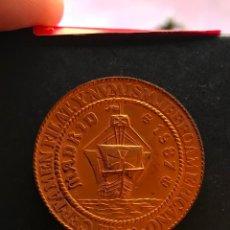 Medallas temáticas: MEDALLA DE COBRE XII CERTAMEN FILATÉLICO Y NUMISMÁTICO IBEROAMERICANO 1987. Lote 148500570