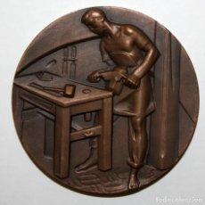 Medallas temáticas: MEDALLA DE LA SERIE OFICIOS TITULADA CEDACERO. ACUÑADA POR LA F.N.M.T.. Lote 148542982