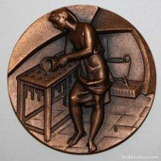 Medallas temáticas: MEDALLA DE LA SERIE OFICIOS TITULADA CERERIA. ACUÑADA POR LA F.N.M.T.. Lote 148543994