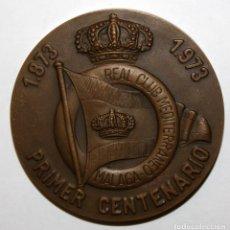 Medallas temáticas: MEDALLA DE BRONCE. REAL CLUB MEDITERRANEO DE MÁLAGA. CENTENARIO 1873 1973. XXVI CAMPEONATO SNIPES. Lote 148777502