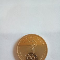 Medallas temáticas: MEDALLA DE SIDNEY 2000 BAÑADA EN ORO. Lote 148777806