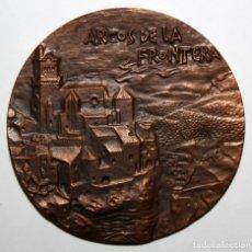 Medallas temáticas - MEDALLA BRONCE ARCOS DE LA FRONTERA. FNMT. AÑO 1969 - 149671990