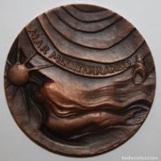 Medallas temáticas: MEDALLA DE LA F.N.M.T. MAR MEDITERRANEO. AÑO 1965. COSTA DORADA. MALGRAT. ALCANAR. TARRAGONA., ETC.. Lote 149683478