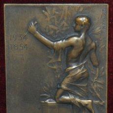 Medallas temáticas: MEDALLA DE BRONCE,P.ARNOULD,1854-1934,HEINRICH KAUTSCH.. Lote 149702462