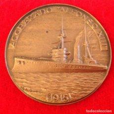 Medallas temáticas: MEDALLA DE BRONCE DEL XXX SALÓN NÁUTICO DE BARCELONA 1991, 5 CM. DE DIAMETRO, EDICIÓN VALLMITJANA. Lote 149712526