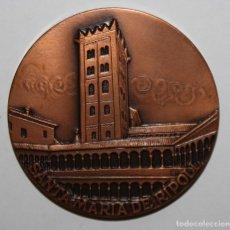 Medallas temáticas: MEDALLA EN BRONCE DEL CENTENARI DE SANTA MARIA DE RIPOLL 971/1971. ABAD OLIBA. Lote 149723266