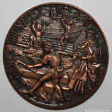 Medallas temáticas: MEDALLA DE LA MARINA ESPAÑOLA EN LA CONQUISTA DE AMERICA. Lote 149733042