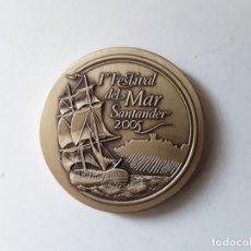 Medallas temáticas: MEDALLA 1º FESTIVAL DEL MAR. SANTANDER 2005. DIÁMETRO 6.3 CM. Lote 150075538