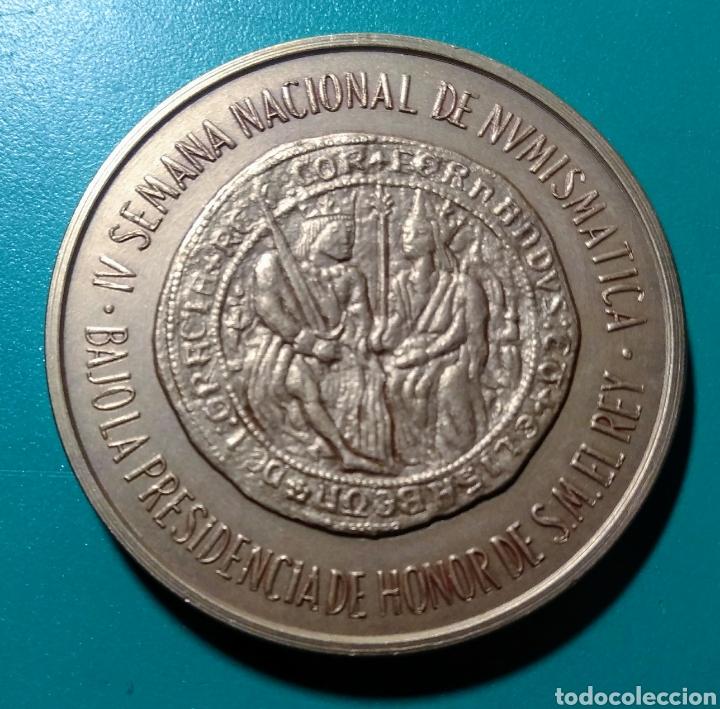 Medallas temáticas: Medalla ANE. IV Salón Nac. Numismática 1981. - Foto 2 - 150474236