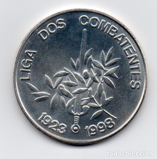 Medallas temáticas: Moneda - Medalla República Portuguesa Liga dos combatentes 1923 - 1998 - 1000$00 - 27 grs. de Plata - Foto 2 - 150940338