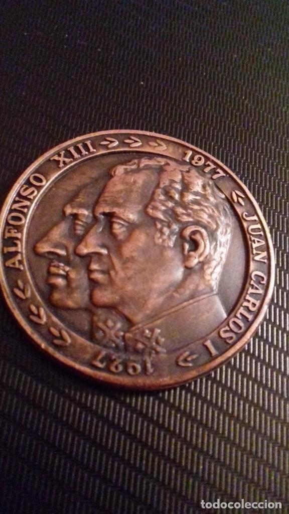 Medallas temáticas: Medalla - moneda Compañía IBERIA 50 Aniversario 1927 - 1977, 28 Junio 1978, en su estuche original - Foto 8 - 151662918
