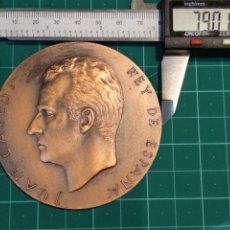 Medallas temáticas: MEDALLA F.N.M.T. CONMEMORATIVA PROCLAMACION JUAN CARLOS I. Lote 152686129