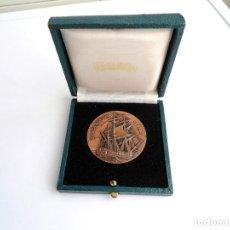 Medallas temáticas: CORBETA ATREVIDA 1794 - SALON NAUTICO BARCELONA 1976 - MEDALLA EN BRONCE. Lote 152807694