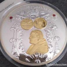 Medallas temáticas: BONITA MEDALLA XXL CONMEMORATIVA AL NOMBRAMIENTO DEL PAPA JUAN PABLO II EN EL AÑO DE LOS 3 PAPAS. Lote 153532178