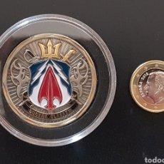 Medallas temáticas: CHALLENGE COIN USNS SPEARHEAD JHSV-1. MONEDA. U.S. NAVY. Lote 145526128