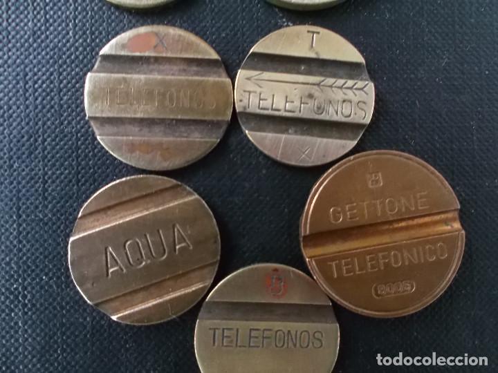 Medallas temáticas: coleccion fichas telefonicas antiguas españolas y francesas - Foto 4 - 153787934
