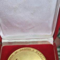 Medallas temáticas: MONEDA CONMEMORATIVA DEL PRIMER CENTENARIO FERROCARRIL DE SARRIA A BARCELONA, 1863-1936. Lote 153826162