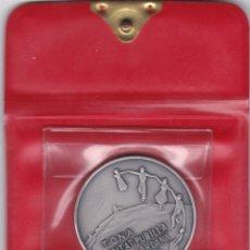 Medallas temáticas: MEDALLA TONA CIUTAT PUBILLA DE LA SARDANA 1978. PLATA. CON CERTIFICADO Y ESTUCHE ORIGINAL. OSONA.. Lote 154224466