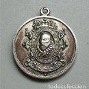 Medallas temáticas: ANTIGUA MEDALLA DE LA COMPAÑÍA ESPAÑOLA DE SEGUROS CERVANTES S.A. EMBLEMA Y SAN CRISTÓBAL . Lote 154285506