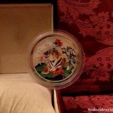 Medallas temáticas: GRAN MEDALLA CONMEMORATIVA AÑO DEL TIGRE - ZODIACO CHINO - 60MM. Lote 155605014