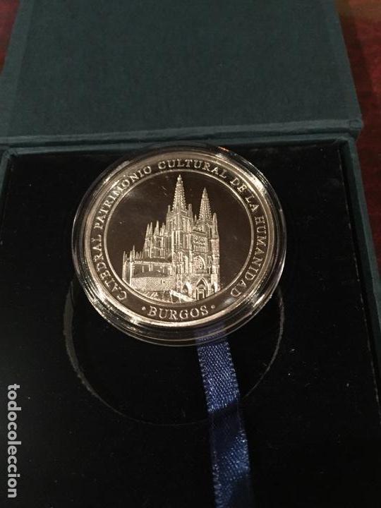 Medallas temáticas: MAGNIFICA MEDALLA PLATA EL CID CAMPEADOR BURGOS - Foto 2 - 156657738