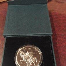Medallas temáticas: MAGNIFICA MEDALLA PLATA EL CID CAMPEADOR BURGOS. Lote 156657738