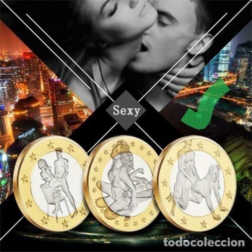 MONEDA DE SEX EUROS - POSTURAS DEL CAMASUTRA ((OJO, ES LA MARCADA)) (Numismática - Medallería - Temática)