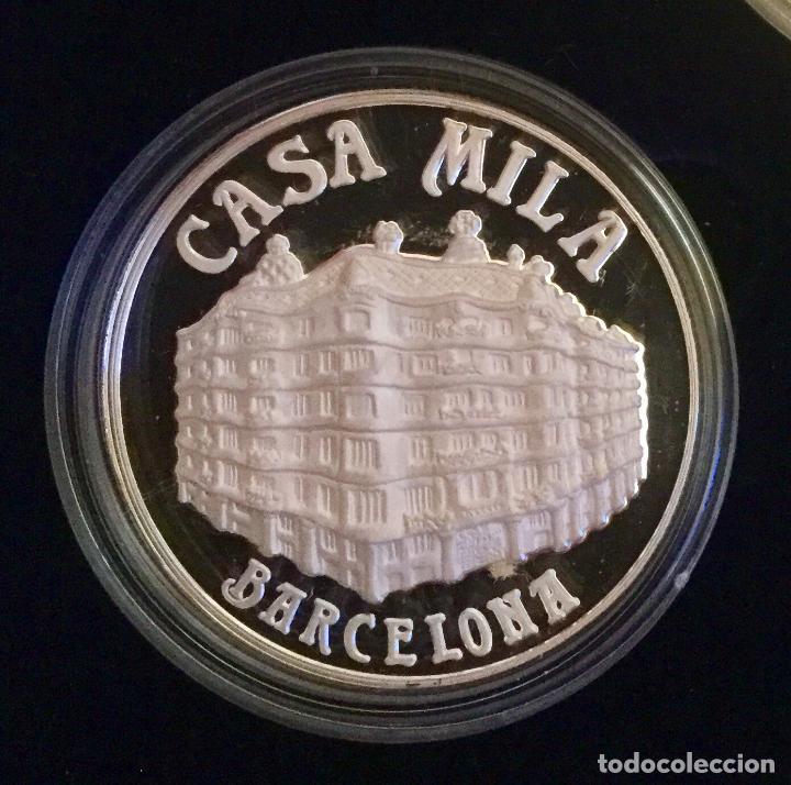 Medallas temáticas: COLECCIÓN GAUDí - 5 MEDALLAS DE PLATA 999/000 - Foto 5 - 157229526