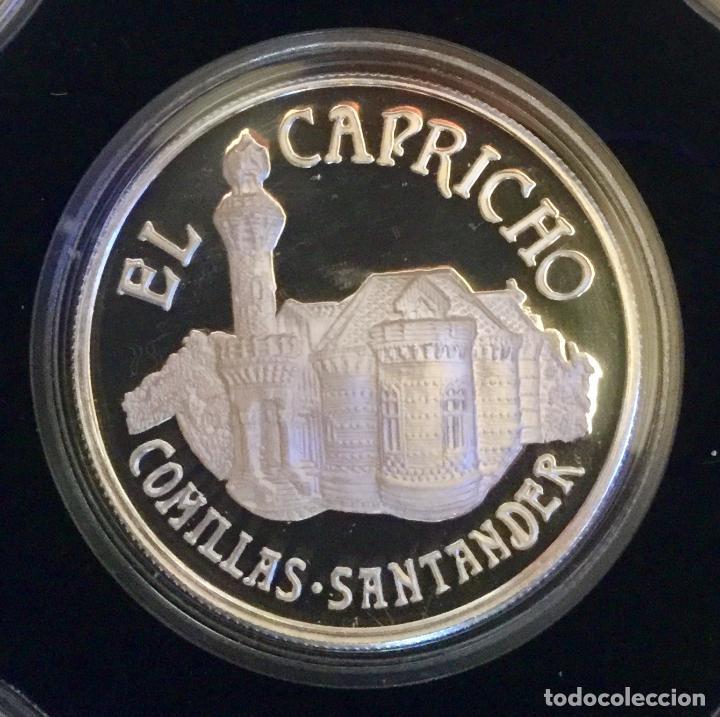 Medallas temáticas: COLECCIÓN GAUDí - 5 MEDALLAS DE PLATA 999/000 - Foto 7 - 157229526