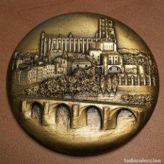 Medallas temáticas: NUMULITE FIGURA 0046 MEDALLA ALBI PHILIPPE BONNECARRÈRE DÉPUTÉ MAIRE D'ALBI FRANCIA 6,5 CM DIÁMETRO. Lote 157290174