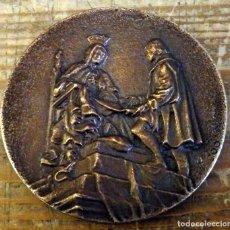 Medallas temáticas: 490 ANIVERSARIO DE LAS CAPITULACIONES SANTA FE. 147 ABRIL 1982. Lote 158196794
