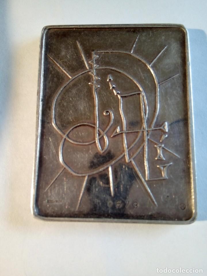 Medallas temáticas: PLACA EN PLATA DE LOS SIETE DÍAS DE LA CREACIÓN /DALI - Foto 3 - 171418450