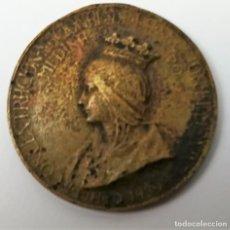 Medallas temáticas: MEDALLA ISABEL LA CATÓLICA. ESPAÑA 1939. Lote 159326306