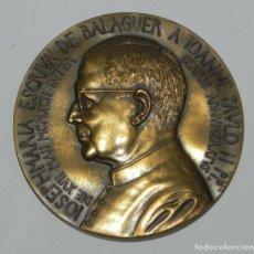 Medallas temáticas: MEDALLA OPUS DEI. SAN JOSÉ MARÍA ESCRIBÁ DE BALAGUER. ESPAÑA. MEDALLA CONMEMORATIVA DE SAN JOSÉ MARÍ. Lote 159364858