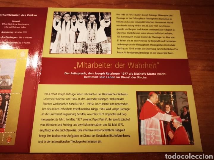 Medallas temáticas: Cartera Alemania 80 Aniversario del Papa Benedicto XVI medalla y sellos - Foto 9 - 159812281