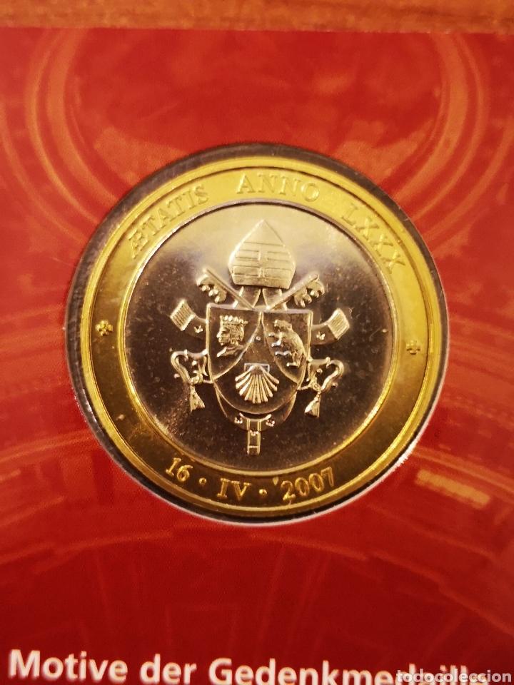 Medallas temáticas: Cartera Alemania 80 Aniversario del Papa Benedicto XVI medalla y sellos - Foto 10 - 159812281