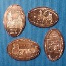 Medallas temáticas: TOLEDO 8 - MONEDA ELONGADA - ELONGATED COIN - PRESSED PENNY. Lote 160685073