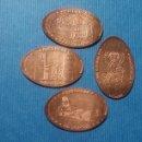 Medallas temáticas: GUADALAJARA 1 SIGÜENZA - MONEDA ELONGADA - ELONGATED COIN - PRESSED PENNY. Lote 160685077
