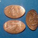 Medallas temáticas: CIUDAD REAL 2 TABLAS DAIMIEL - MONEDA ELONGADA - ELONGATED COIN - PRESSED PENNY. Lote 160685057