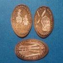 Medallas temáticas: CIUDAD REAL 3 ALMAGRO - MONEDA ELONGADA - ELONGATED COIN - PRESSED PENNY. Lote 160685052