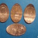 Medallas temáticas: CIUDAD REAL 4 CAMPO DE CRIPTANA - MONEDA ELONGADA - ELONGATED COIN - PRESSED PENNY. Lote 160685049
