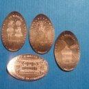 Medallas temáticas: CIUDAD REAL 5 ALMAGRO - MONEDA ELONGADA - ELONGATED COIN - PRESSED PENNY. Lote 160685044