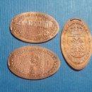 Medallas temáticas: CIUDAD REAL 6 CASTILLO DE CALATRAVA - MONEDA ELONGADA - ELONGATED COIN - PRESSED PENNY. Lote 160685016