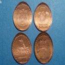 Medallas temáticas: VALLADOLID 4 - MONEDA ELONGADA - ELONGATED COIN - PRESSED PENNY. Lote 160685036
