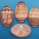Medallas temáticas: PALENCIA 1 - MONEDA ELONGADA - ELONGATED COIN - PRESSED PENNY. Lote 160685008