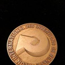 Medallas temáticas: MEDALLA DE ORO DEL SALÓN INTERNACIONAL DE INVENCIONES DE GINEBRA GENEVE. Lote 160587348