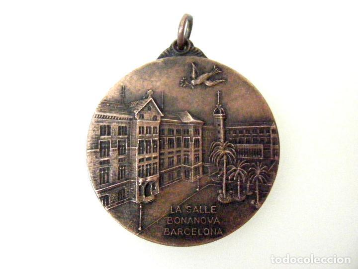 MEDALLA LA SALLE BONANOVA - BARCELONA - CONVIVENCIAS - 1977 (Numismática - Medallería - Temática)